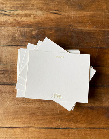 Many Thanks-Set of 6 thank you notes