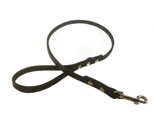 """The Urban"" 3 foot Bridal Leather Leash"