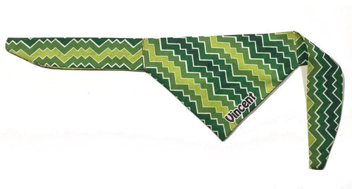 Retro Style Green Personalized Bandana