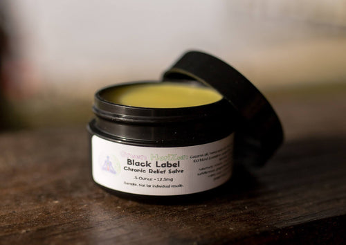 Black Label Chronic Relief Salve