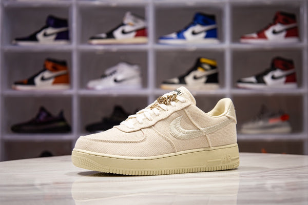 Air Force 1 Stussy White