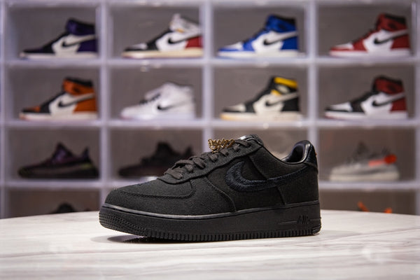Air Force 1 Stussy Black