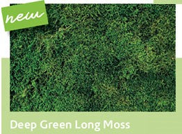 New! Deep Green Long Moss Wall Panels ⭐⭐⭐⭐⭐