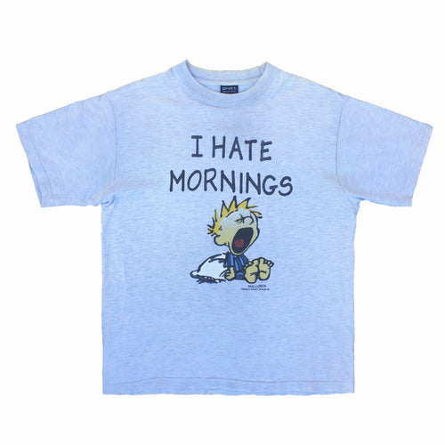 Remera I Hate Mornings (L)