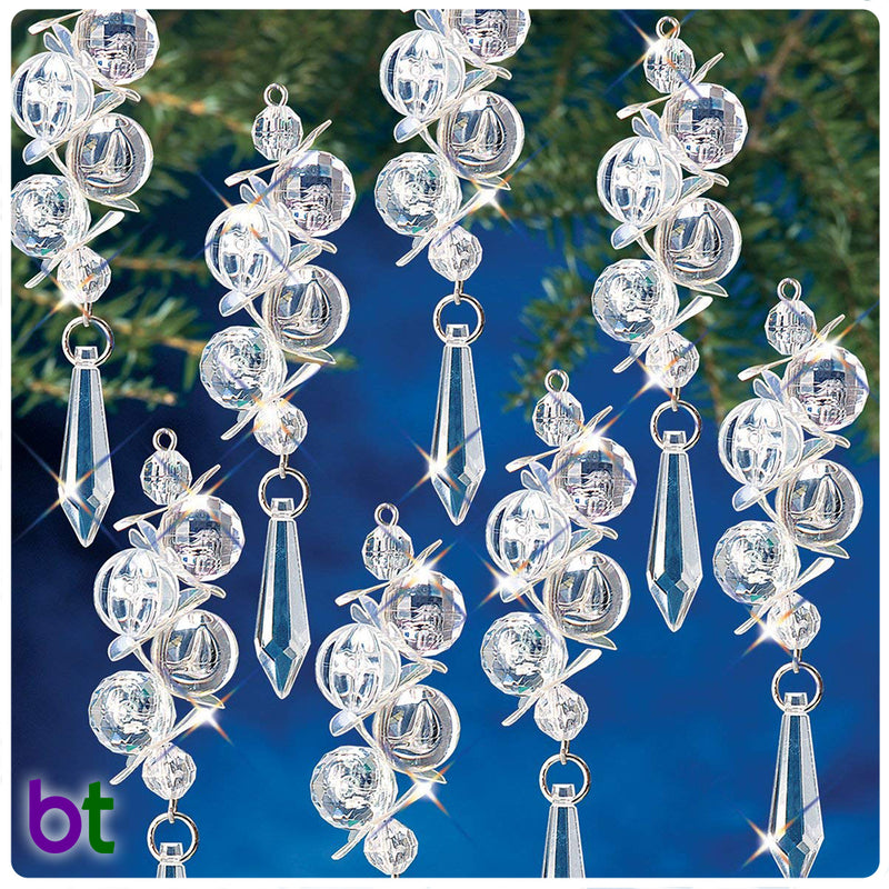 Iridescent Bubble Danglers Holiday Ornament Kit