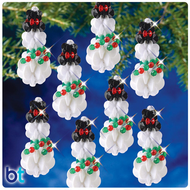 SunBurst Snowman Holiday Ornament Kit