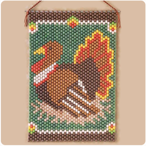 Turkey Beaded Banner Kit