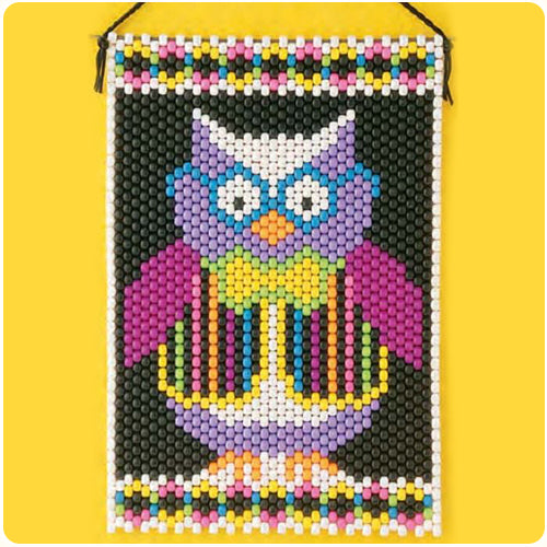 Hootie The Owl Beaded Banner Kit