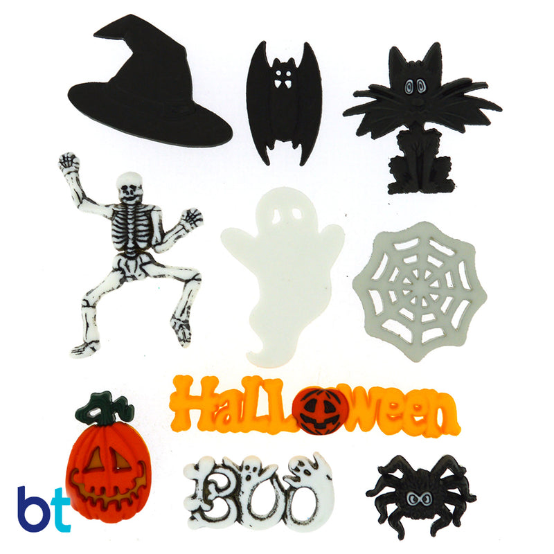 Mini Halloween Buttons