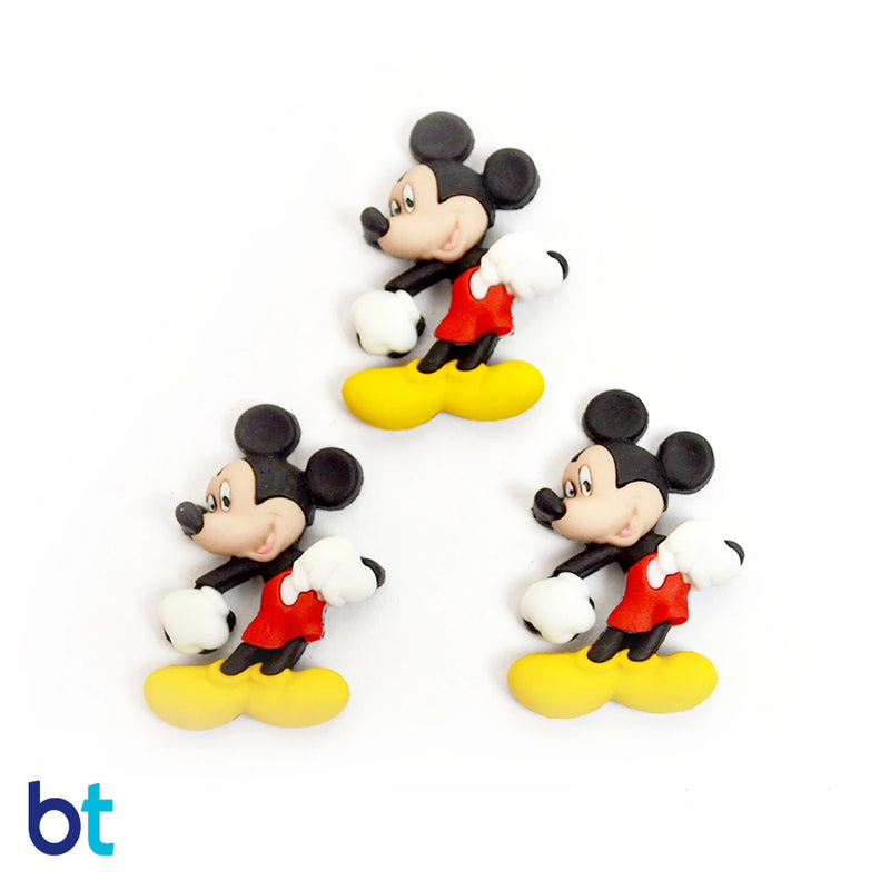 Mickey Mouse Left Buttons (3pcs)