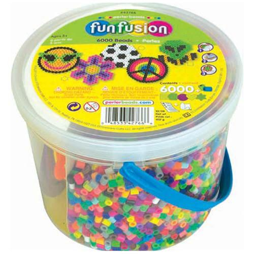 Multi Mix Perler Beads Bucket (6000pcs)
