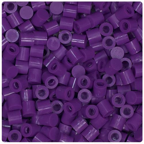 Purple Perler Cap Beads (750pcs)