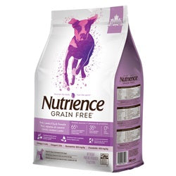 Nutrience Grain Free Pork, Lamb & Duck Formula