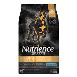 Nutrience Grain Free Subzero for Large Breed Dogs - Fraser Valley - 10 kg (22 lbs)