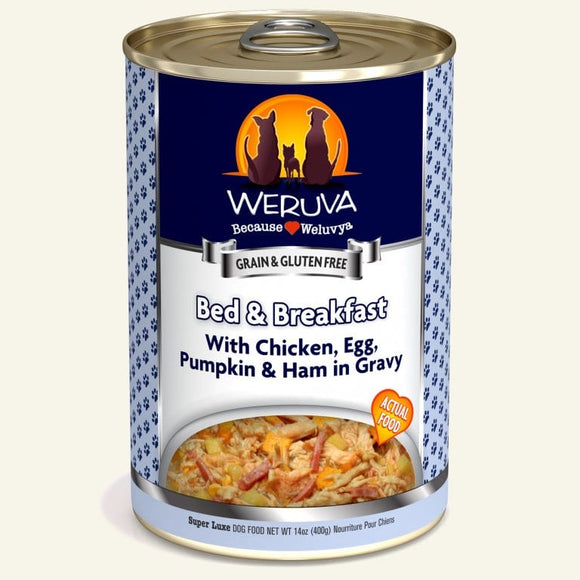 Weruva Dog Bed N Breakfast Canned Dog Food