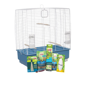 Living World Cockatiel Starter Kit - 61 cm L x 33 cm W x 67 cm H (24in x 13in x 26.4in)
