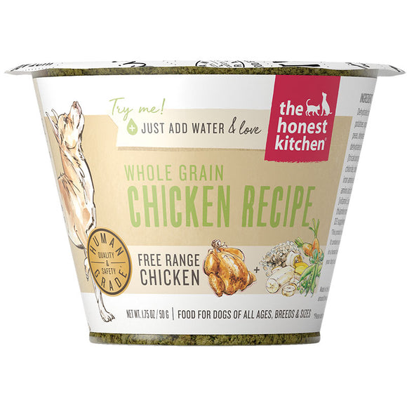 Whole Grain Chicken Dehydrated Dog Food