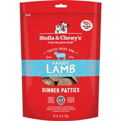 STELLA & CHEWY'S DOG FREEZE-DRIED LAMB DINNER PATTIES