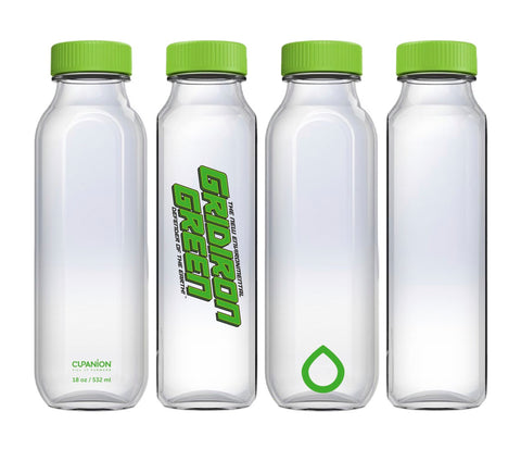 The Gridiron Green Cupanion Bottle
