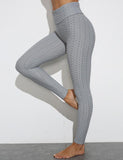 Textured Leggings for Women Butt Lifter
