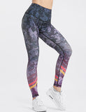 Quick-drying Camouflage Leggings For Women