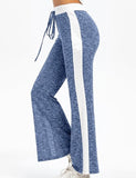 Leisure Trousers with Lace Up