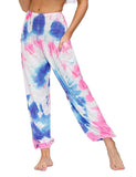 Women Tie-dye Printed Yoga Bloomers