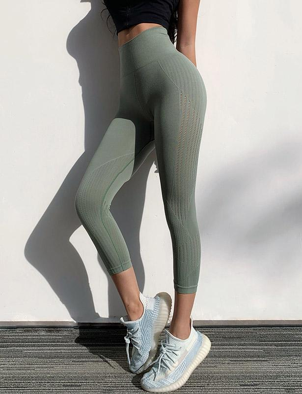 Hollow Compression Gym Leggings for Women