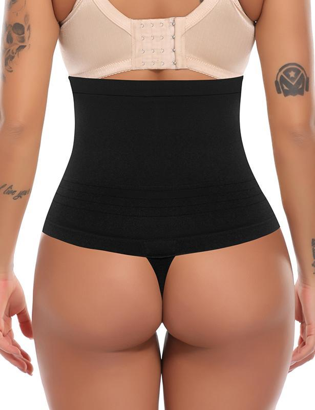 Mid Waist Seamless Control Thong