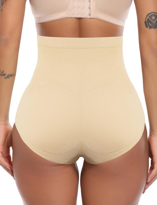 Mid-waist Control Padded Butt Lift Panties