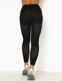 Women's Hollow Yoga Leggings Fitness Workout