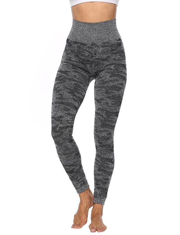 High Waist Camouflage Squat-proof Leggings