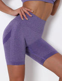 High Waist Workout Yoga Shorts for Women