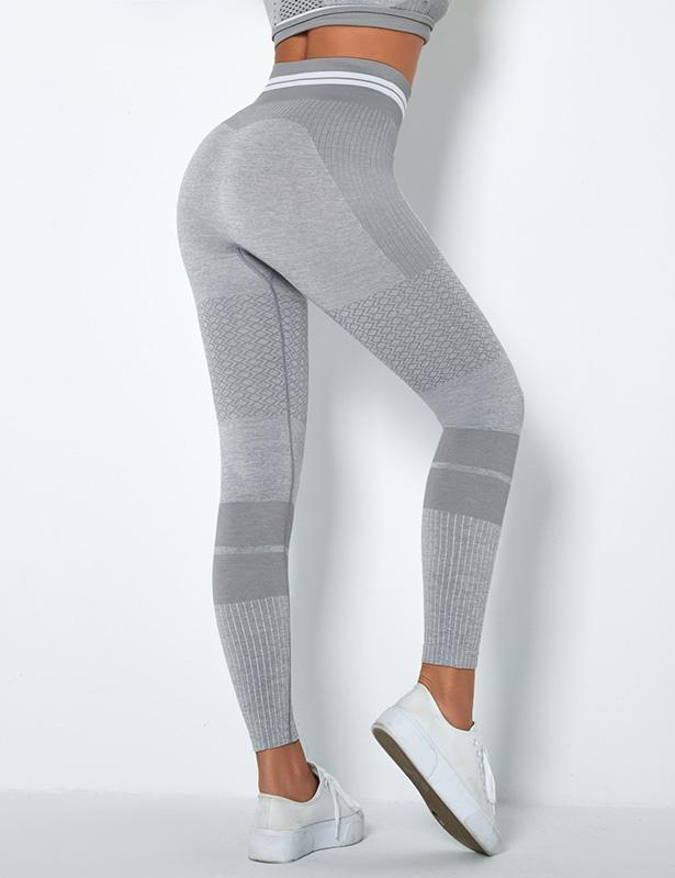 Striped Leggings for Women Workout