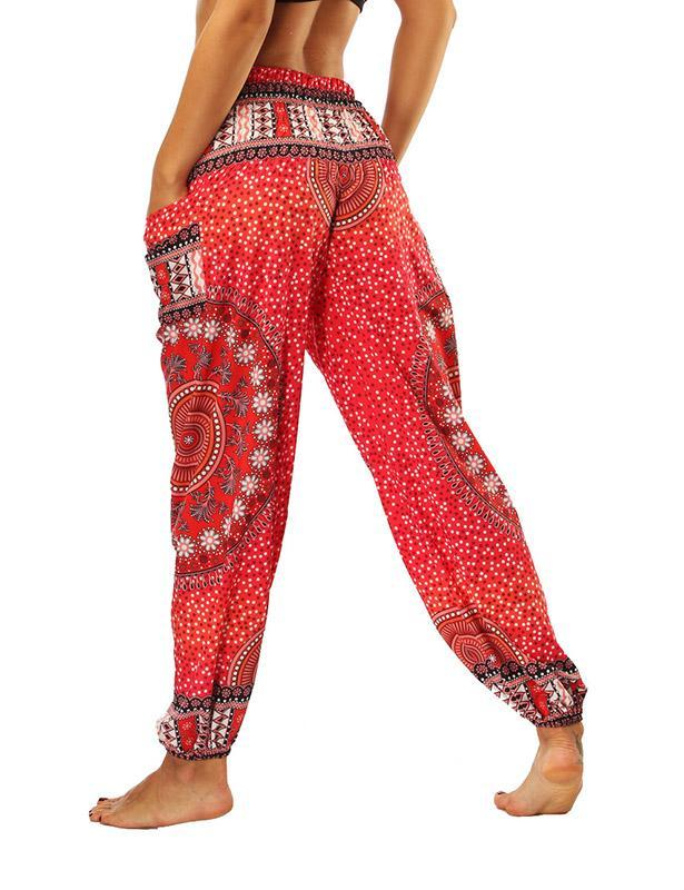 Boho Harem Pants for Women