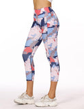 Compression Printing Capri Leggings for Women