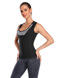 Womens Sauna Tank Top Sweat Vest