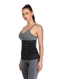 Latex Waist Trainer with Removable Belts