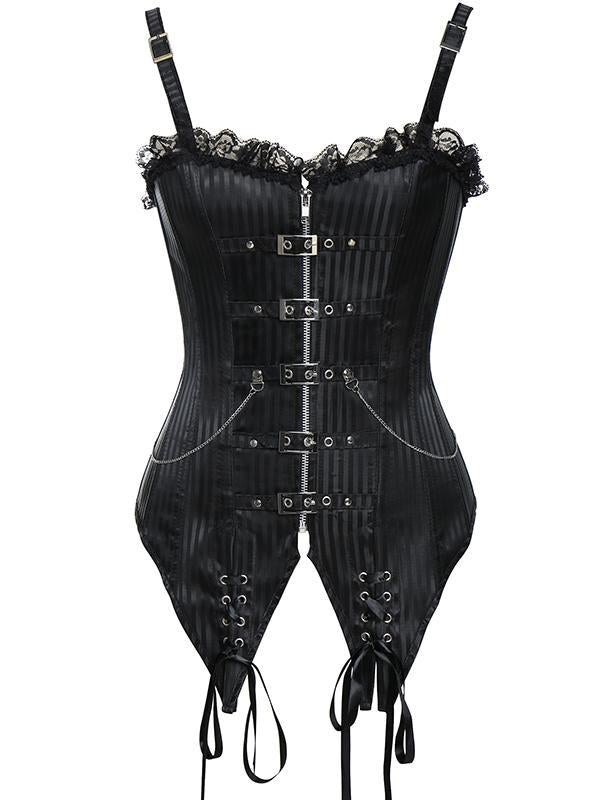 Steam Punk Corset with Straps