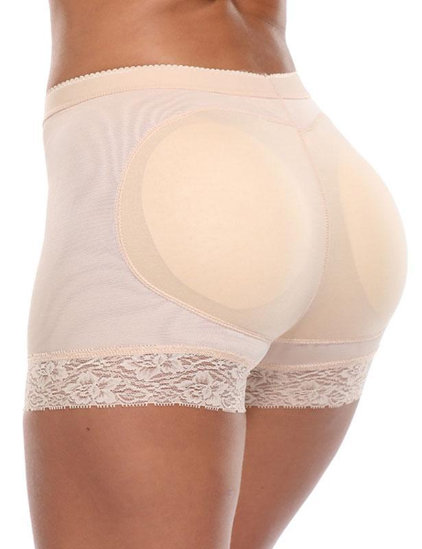 Seamless Breathable Padded Butt Lifter Panties