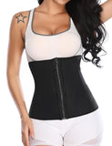 Neoprene Sweat Sauna Waist Trainer with Zippers