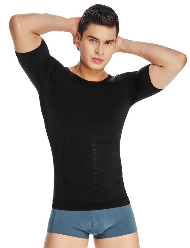 Crew Neck Compression Tee