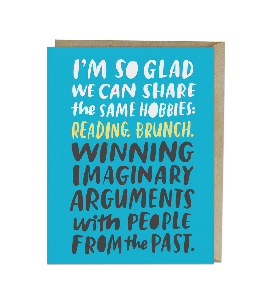Imaginary Arguments Card - M.Lovewell