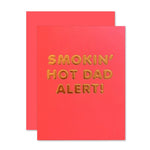 Smokin' Hot Dad Father's Day Card
