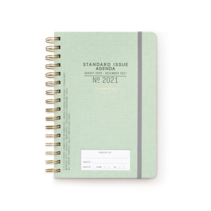 Standard Issue 17 Month Small Planner - M.Lovewell