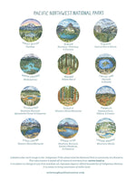 National Parks Pacific Northwest 2021 Calendar