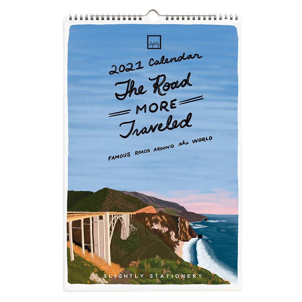 2021 The Road More Traveled Wall Calendar