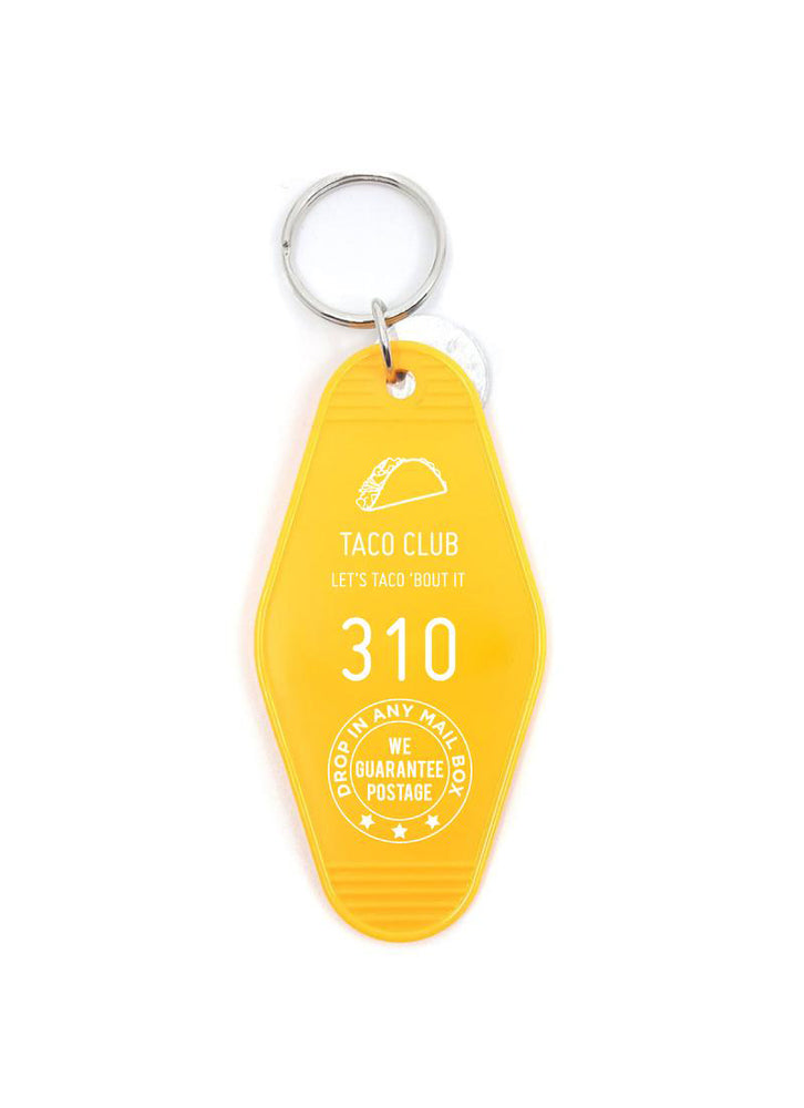 Taco Club Key Tag