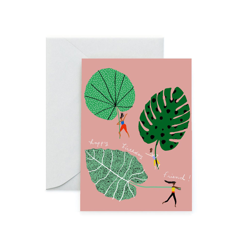 Leaf Riders Birthday Card - M.Lovewell