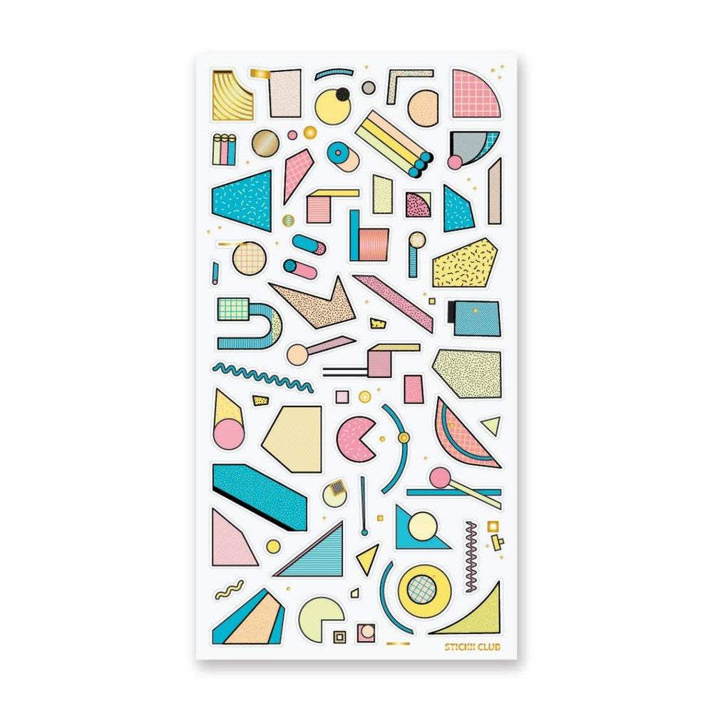 Abstract Shapes Stickers - M.Lovewell
